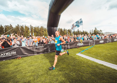 VBD Valtteri finish line